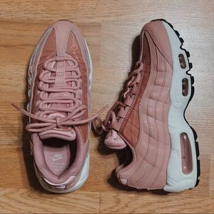 Nike air max's 95 in rust pink